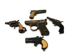 A Ronson lighter in the form of a gun,
