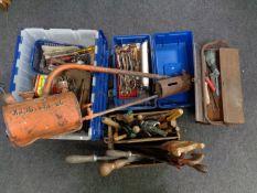 A crate,