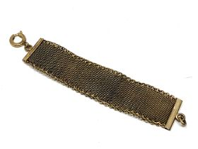 An antique rolled gold watch fob