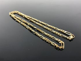 A vintage gold plated chain