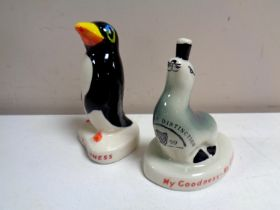 Two Carlton ware figures, My Goodness My Guinness,
