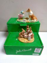Two John Beswick limited edition Beatrix Potter figures,