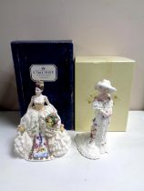 Two Coalport limited edition figures, The Basia Zarzycka Collection,