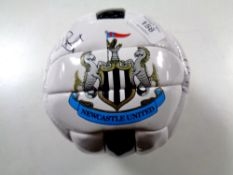 A signed NUFC football