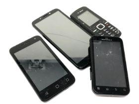 Four mobile telephones