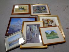 A group of pictures and prints,