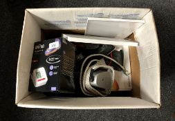 A Braun blood pressure monitor, BT home hub,