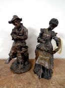 Two composite figures,