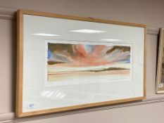20th century school : Skye, watercolour,