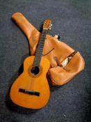 A BM Classical acoustic guitar