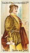SALMON & GLUCKSTEIN, Shakespearean Series, complete, frames to backs, EX, 22