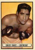 TOPPS, Ringside Boxers, No. 55, 69, 87, 89-94, large, G to VG, 9