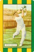 COLES STORES, Cricketers (1953/4), complete, 59 x 88mm, VG to EX, 28