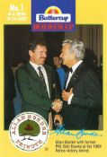 BUTTERCUP, cricket, inc. Allan Border Tribute, Borders Ashes Heroes, 1993/4 World Series All