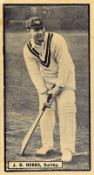 CRICKET, inc. complete (3), Thomson Worlds Best (32), Hill & Texaco; Carreras Famous Cricketers,