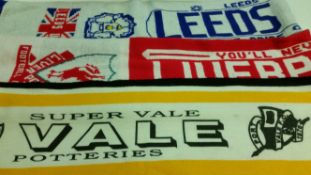 FOOTBALL, scarves, inc. England (2), Rangers, Tottenham, Liverpool, Port Vale, Leeds,