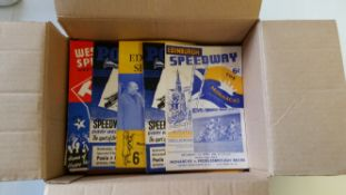 SPEEDWAY, programmes, inc. Rye House (31), Coventry (13), Oxford (25), Poole (29), West Ham (10),