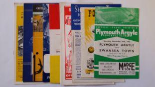 FOOTBALL, programmes, 1960's, teams O-Y, inc. Oldham, Oxford, Peterborough, Port Vale, Reading,