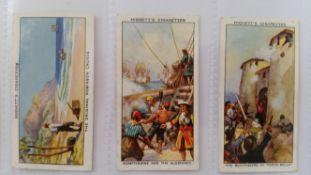 HIGNETT, selection, inc. complete (3), Military Portraits, Sea Adventure, Greetings; part sets, Arms