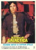 TOPPS, Battlestar Galactica, complete, VG to EX, 132