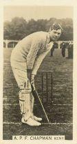 WILLS, Cricket Season 1928-9, G to VG, 36*