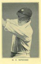 AMALGAMATED PRESS, Australian & English Cricket Stars, large, creased (3), FR to VG, 19