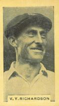 PHILLIPS, Test Cricketers 1932-1933, Australian issue, with brand, creased (6), P (2) to VG, 38*