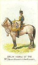 WILLS, Drum Horses, complete, United Service, G to VG, 32