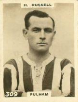 PHILLIPS, Footballers (Pinnace), miniature RP, Nos. between 301 & 450, variations/duplicates (9),