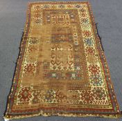 A Kazak Fachralo rug, West Caucasus, late 19th/early 20th century, the compartmentalized field
