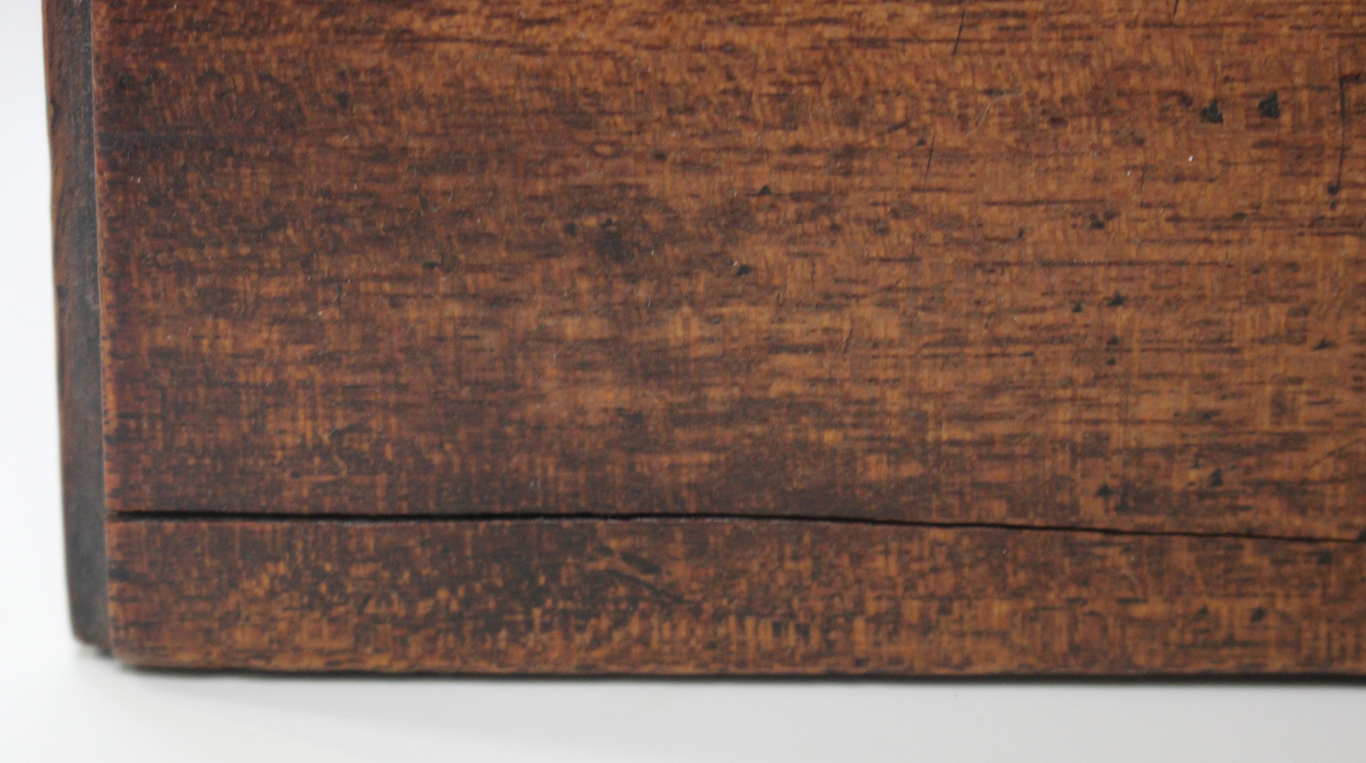 An early Victorian mahogany table-top apprentice chest of drawers, height 26cm, width 27cm.Buyer's - Image 3 of 8