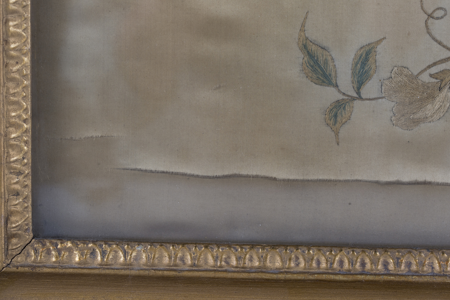 A near pair of late 19th century Japanese silk and metal thread stumpwork panels, both depicting - Image 4 of 31