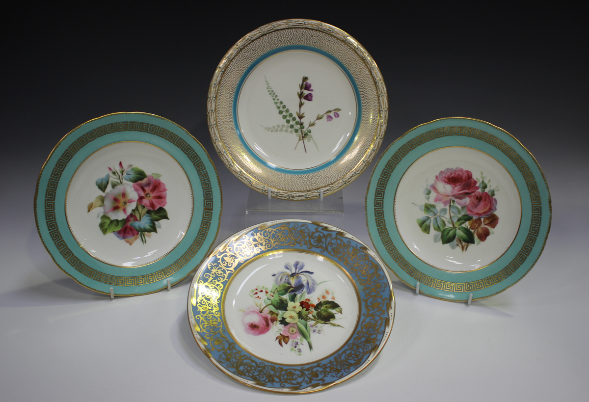 A mixed group of decorative ceramics, 19th century and later, including a Sunderland lustre - Image 2 of 3