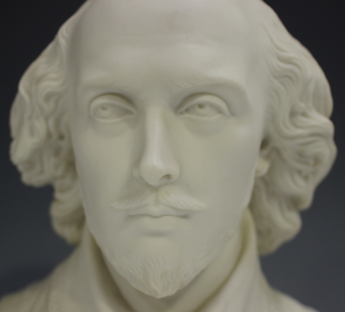 Two Copeland Parian Crystal Palace Art Union busts, second half 19th century, the first depicting - Image 13 of 14