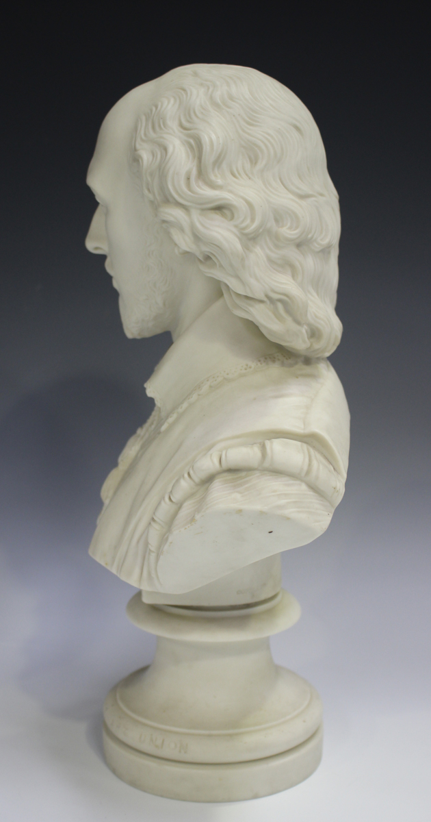 Two Copeland Parian Crystal Palace Art Union busts, second half 19th century, the first depicting - Image 10 of 14