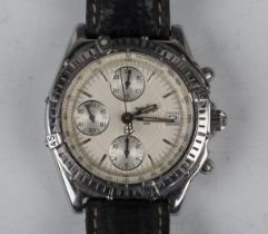 A Breitling Chronomat stainless steel cased gentleman's Automatic Chronograph wristwatch, Ref.