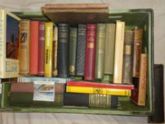 Various travel volumes,
