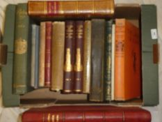 Various illustrated volumes including Milton's Minor Poems 1899;