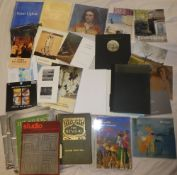 A selection of various Cornish art related volumes and others including Stanhope-Forbes and the