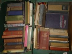Various travel related volumes including South Africa and the Transvaal War,