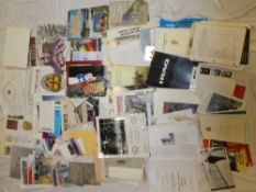 A large selection of British and American military related publications and paperwork including