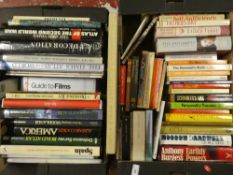 Nine boxes of various volumes - miscellaneous subjects