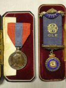 An Imperial Service Medal (E11R) awarded to Edward Thomas Smith,