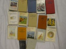 Various volumes including The Welsh Fairy Book, Observers volumes,