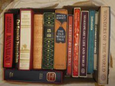 Thirteen various Folio Society volumes,