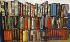 A large selection of over 90 Folio Society volumes,