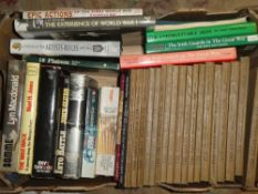 Various First War volumes and Regimental vols including The Great War - a History 15 vols;