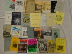 A selection of Cornish pamphlets including the St Ives Society of Artists 1982 catalogue,
