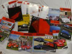 A Ferrari 360 Modena sales brochure, various Ferrari quarterly journals,