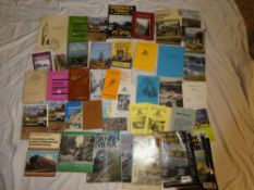 Various Cornish pamphlets and volumes including the Cornwall Village Book, Cornwall's Central Mines,
